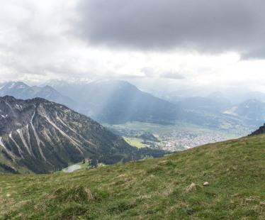 W drodze powrotnej z Gaisalphorn - Oberstdorf